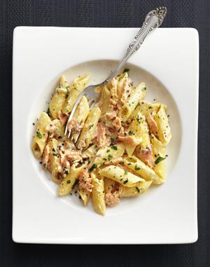 Простой рецепт итальянской кухни: паста, рыба и соус