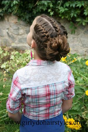 Высокие прически для девочек – к празднику. Мастер-класс с видео
