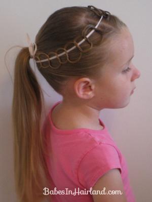 Резинки для волос плетение из резинки