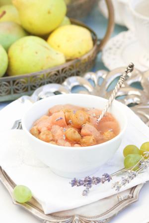 Заготовки на зиму - рецепт варенья: виноград и груши