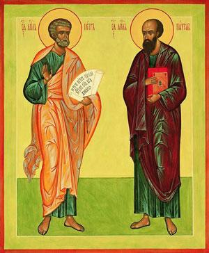 Два непохожих апостола - два разных сына. Два счастья в нашей семье