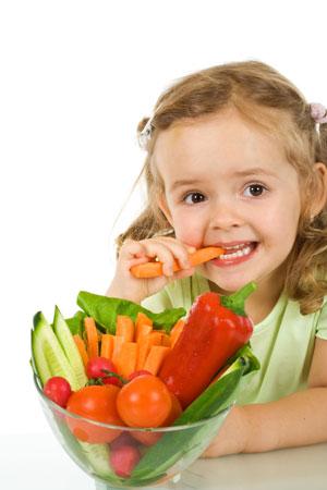 Питание ребенка осенью