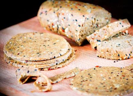 Цельнозерновые хлебцы и тарталетки