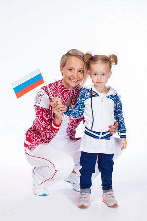 Оксана Домнина с дочкой Настей