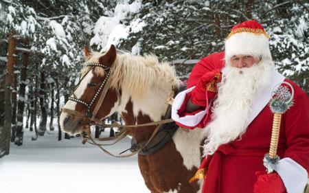 Дед Мороз: 10 образов и костюмов.