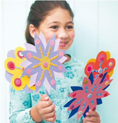 Ваза для цветов из бумаги своими руками
