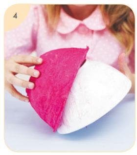 Поделки своими руками в подарок маме: ваза из папье-маше и аппликация