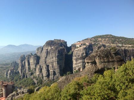 Греция: Парящие Метеоры - для паломников и туристов