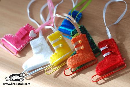 Елочные игрушки на новый год своими руками