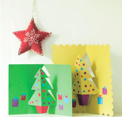 Поделки к Новому году – открытки, украшения и сладкие подарки