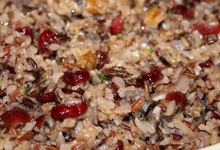 Ризотто, курица, 2 салата и овсяное печенье: 5 рецептов с клюквой