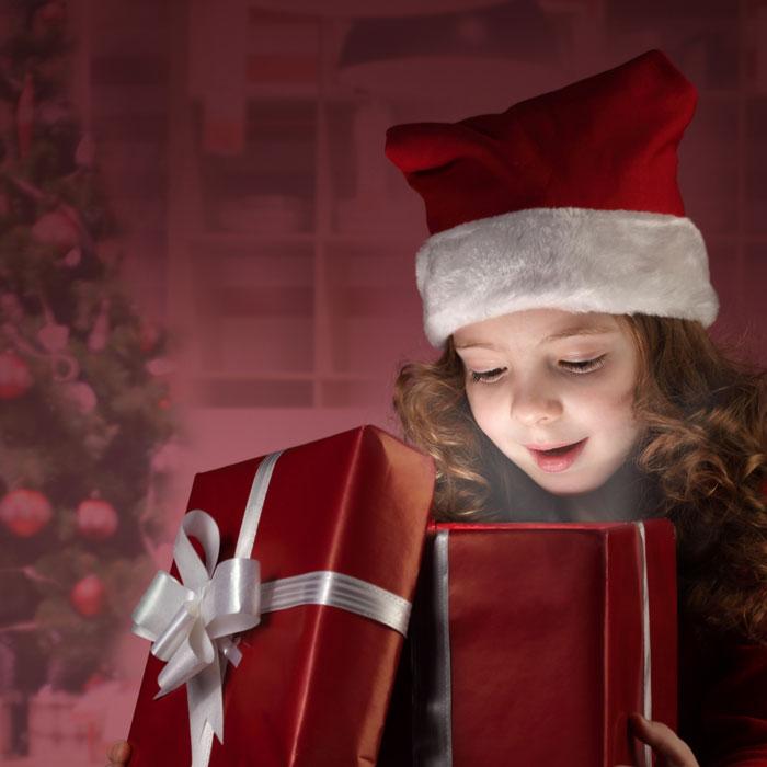 Новогодний подарок под елку