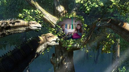 Wonderbook: Прогулки с динозаврами