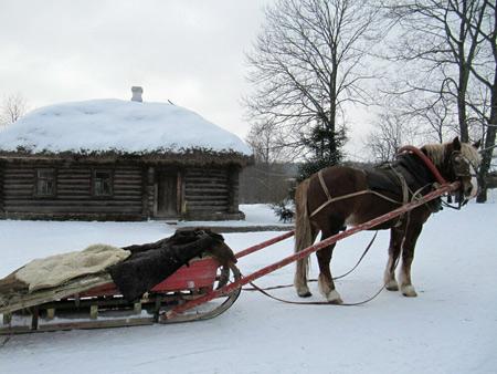 Путешествие в каникулы: Рождество в Ясной Поляне