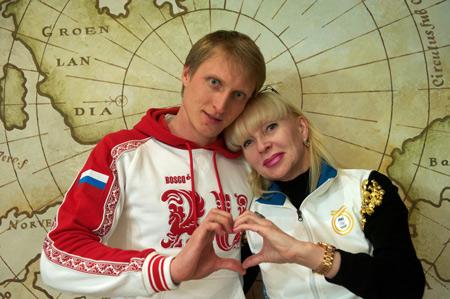 Иван Скобрев крестной Мариной Шастиной
