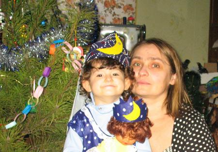 Праздник глазами мамы: Новый год для трехлетней дочки