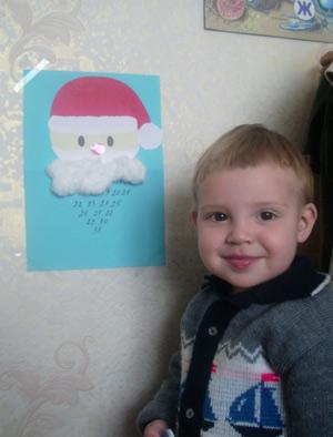 Новый год для двухлетнего сына: праздник своими руками