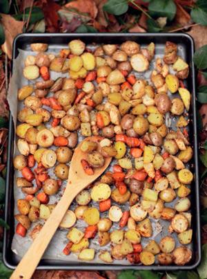 3 постных рецепта: кабачки, пьяная репка и овощи в духовке