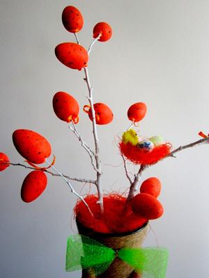 Украшения к Пасхе – своими руками: пасхальное деревце
