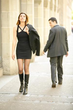 Сексуальная женщина всегда уверена привлекательна мужчин желанна сексуальна один мужчина