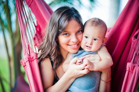 Регина Бурд с сыном Энжелом