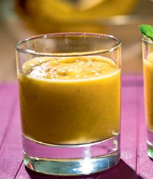 Десерты и напитки в жару: крем, смузи, сок. Энергия и витамины!