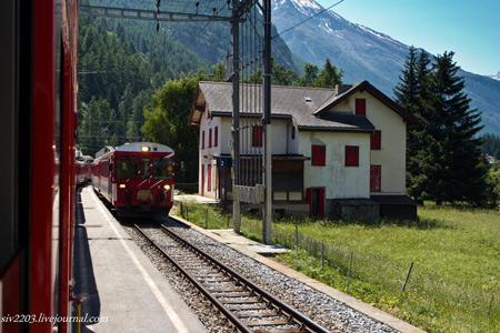 В Церматте - только поезда и электромобили