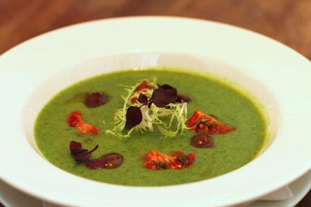 суп с рукколой