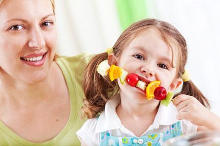 Детское питание по-французски