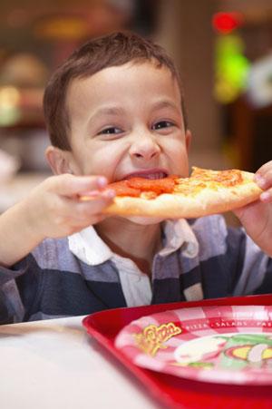 Питание детей во Франции
