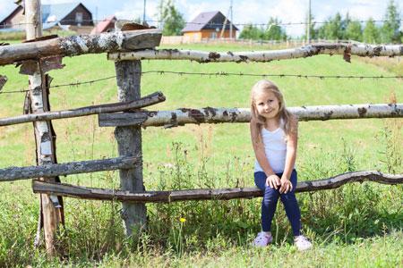 Занятия с ребенком на даче и в деревне