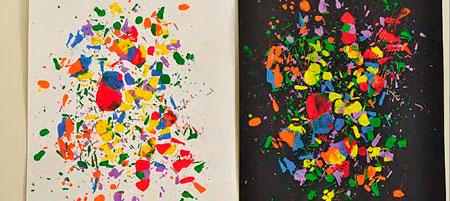 Игры с красками: 3 рисунка в подарок плюс рецепт натуральных красителей