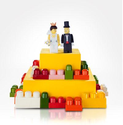 Свадебный торт ''LEGO''
