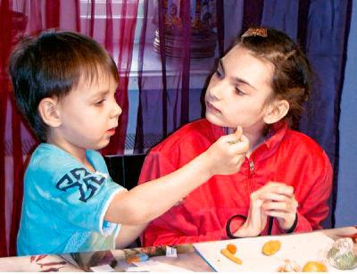 Отношения здоровых и больных детей в семье