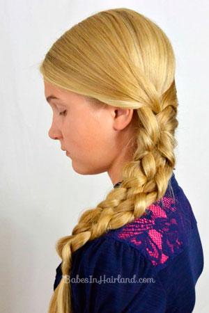 Прическа для девочки к 1 сентября: мастер-класс с видео