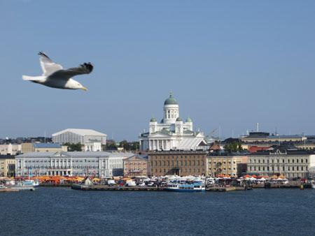Из Хельсинки в Стокгольм – на пароме