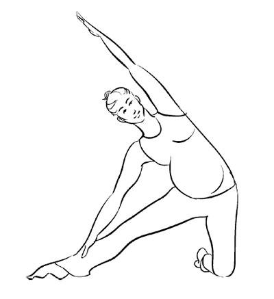Йога для беременных: 6 поз для первого триместра