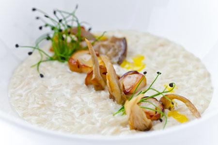 2 рецепта с грибами: белые, лисички, мясо и рис