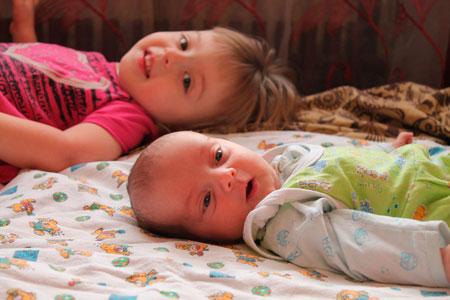 42 недели ожидания: рождение сына после дочки