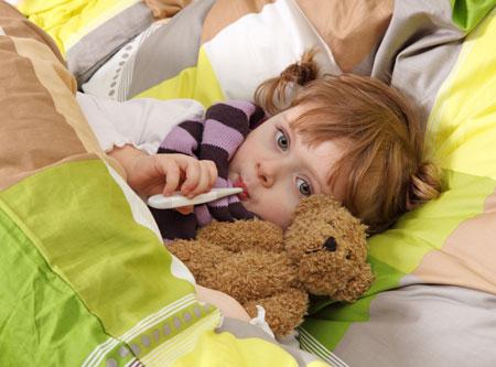 Что делать, если ребенок простудился?