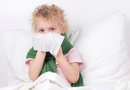 Уход за ребенком при простуде
