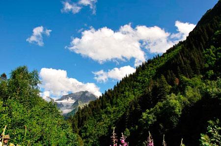Поход на Кавказ: отдых у моря - не для меня