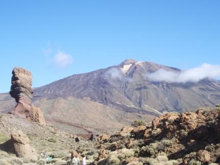 Тенерифе, вулкан Тейде