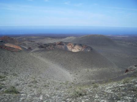 Лансароте. Долина вулканов. Нац.парк Тиманфайя