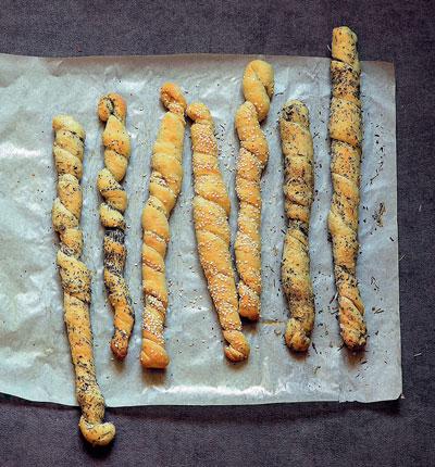 Итальянские хлебные палочки гриссини