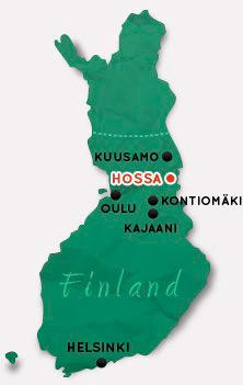 Финляндия-2015: коттеджи, рыбалка - природный парк Хосса
