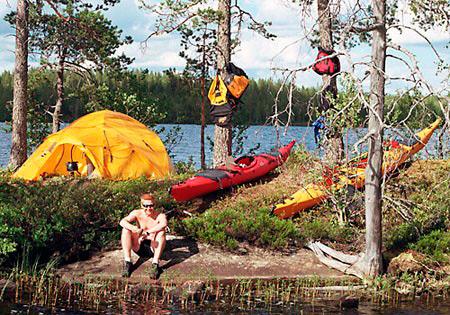 Финляндия: варианты размещения в парке Хосса