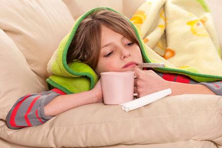 Когда простуда – каждый месяц. Что дать ребенку для иммунитета