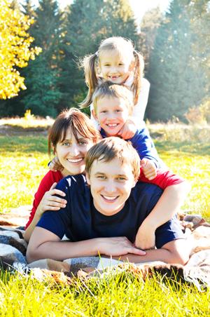 Тепло семейных отношений