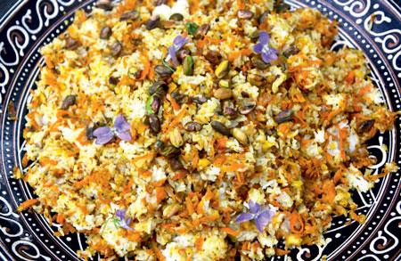 Сладкий рис по-персидски